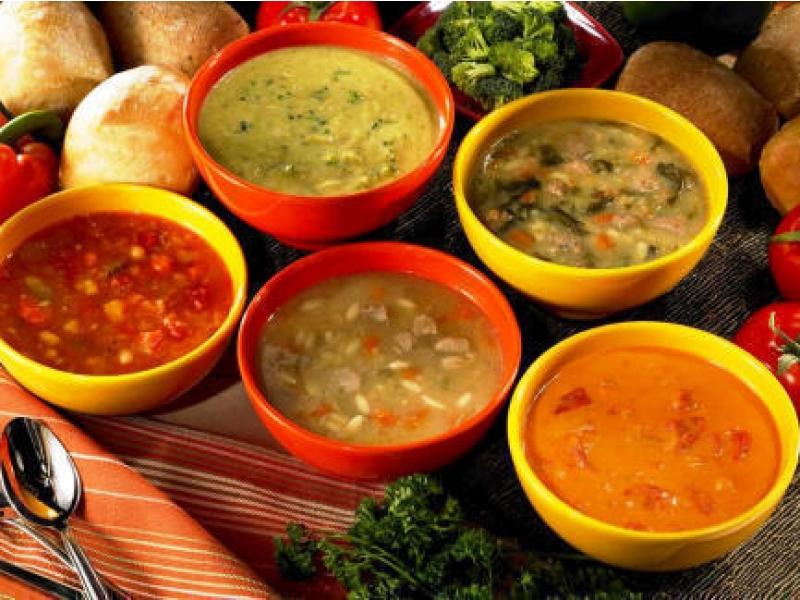 Фото и первых блюд