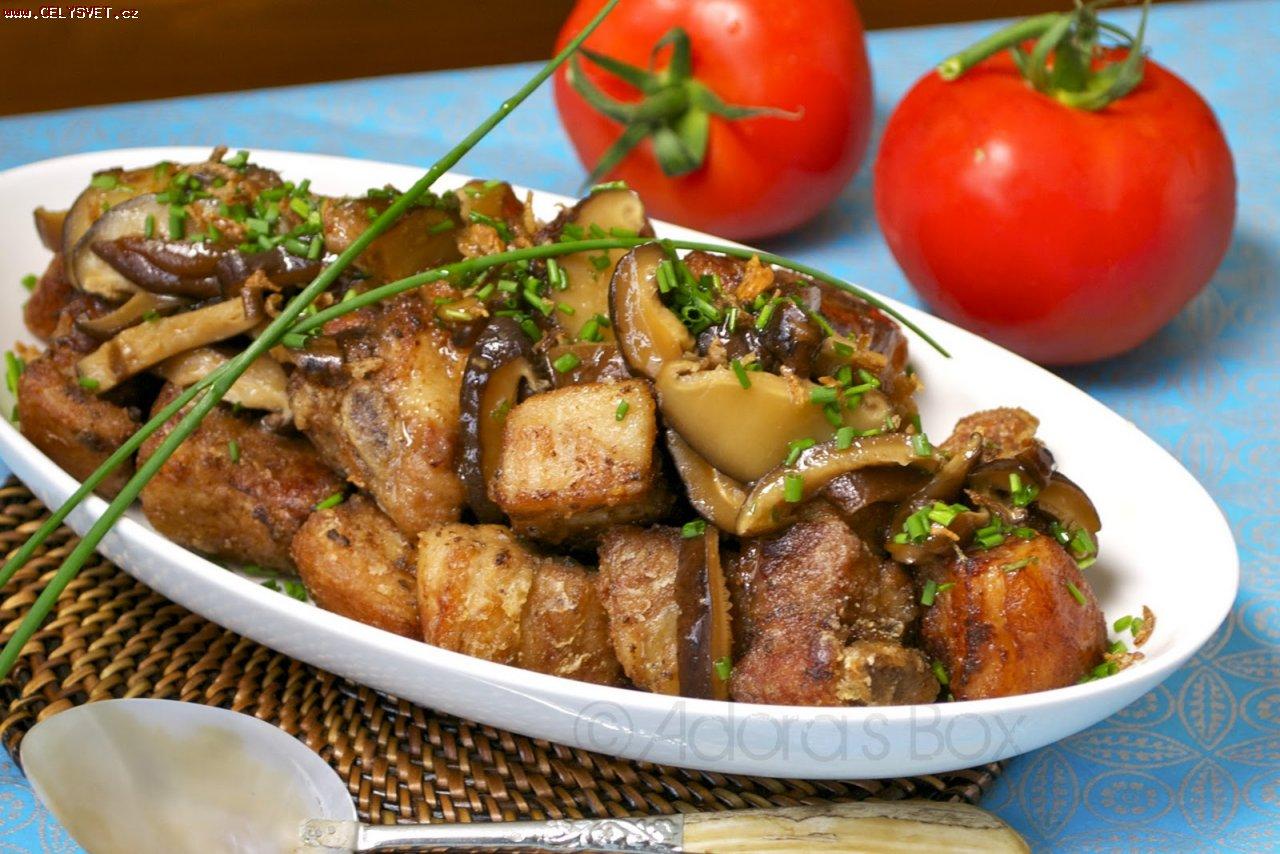 Стейки из свинины в духовке с грилем рецепт