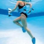 Бег в воде – приводим себя в форму