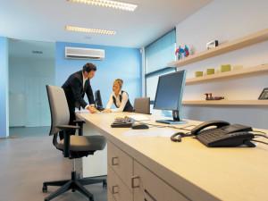 Установка кондиционера в офисе