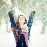 Как должна выглядеть девушка в зимнее время?