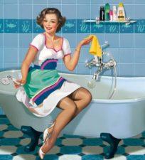 Как в домашних условиях отбелить ванну