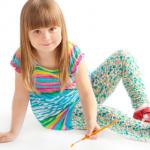 Лучшие модели детских лосин оптом