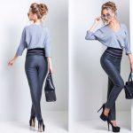 Трое брюк с высокой талией от Medini для создания трендового образа