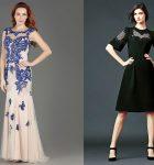 С чем носить платье с вышивкой?